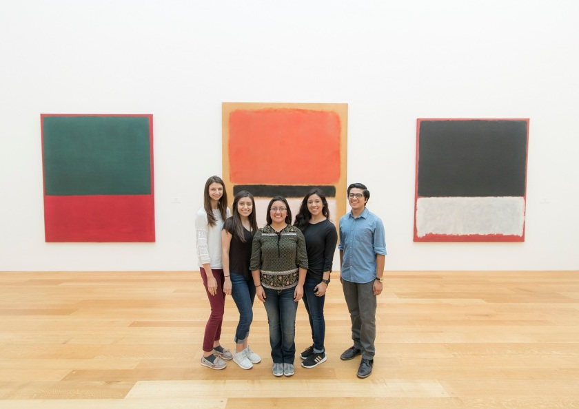 SHSU, LEAP Center, LEAP Ambassadors, Washington DC, National Gallery of Art, Rothko