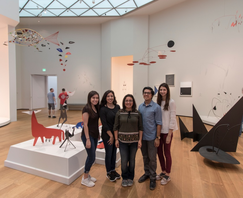 SHSU, LEAP Center, LEAP Ambassadors, Washington DC, National Gallery of Art, Calder
