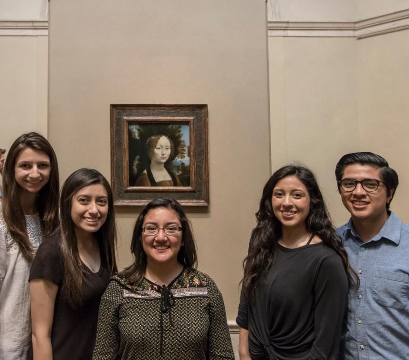 SHSU, LEAP Center, LEAP Ambassadors, Washington DC, National Gallery of Art, Da Vinci