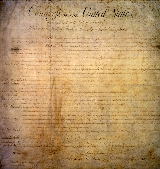 SHSU, LEAP Center, LEAP Ambassadors, National Archives, Bill of Rights