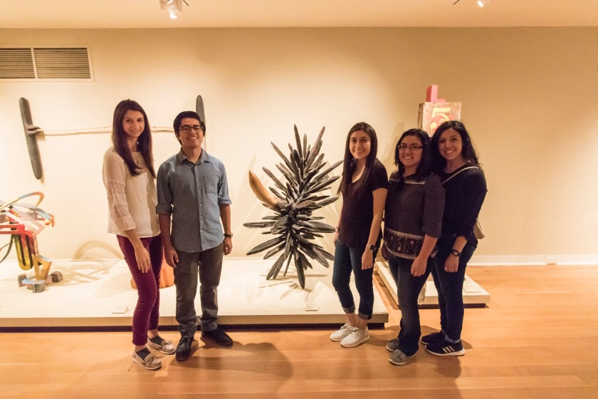 LEAP Center, LEAP Ambassadors, SHSU, Washington DC, Smithsonian American Art Museum, James Surls