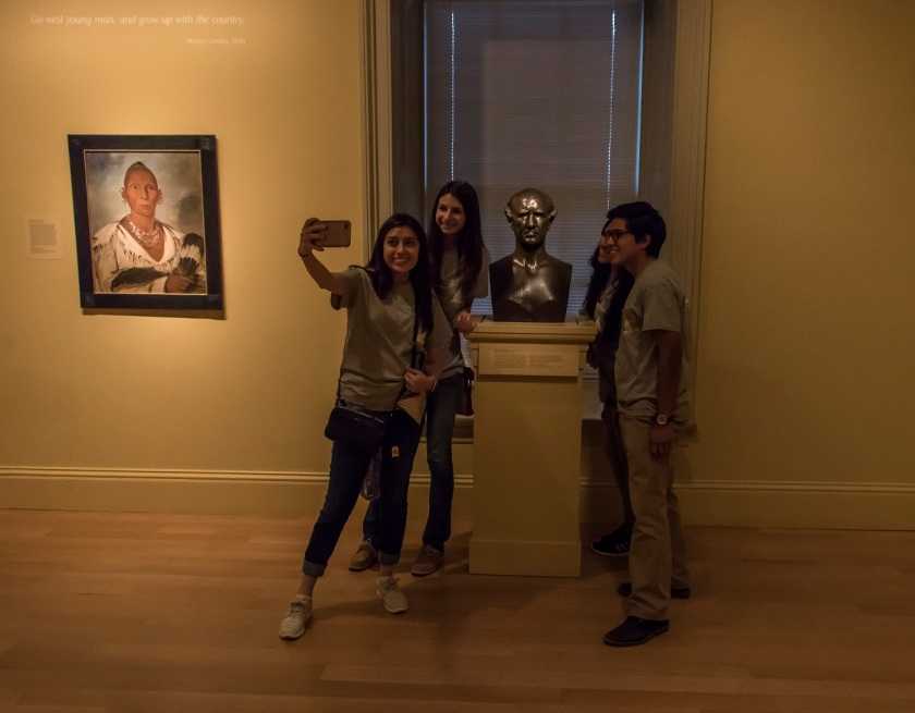 LEAP Center, LEAP Ambassadors, SHSU, Washington DC, Smithsonian American Art Museum