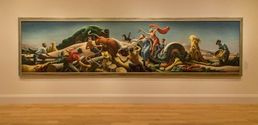 LEAP Center, LEAP Ambassadors, SHSU, Washington DC, Smithsonian American Art Museum, Thomas Hart Benton