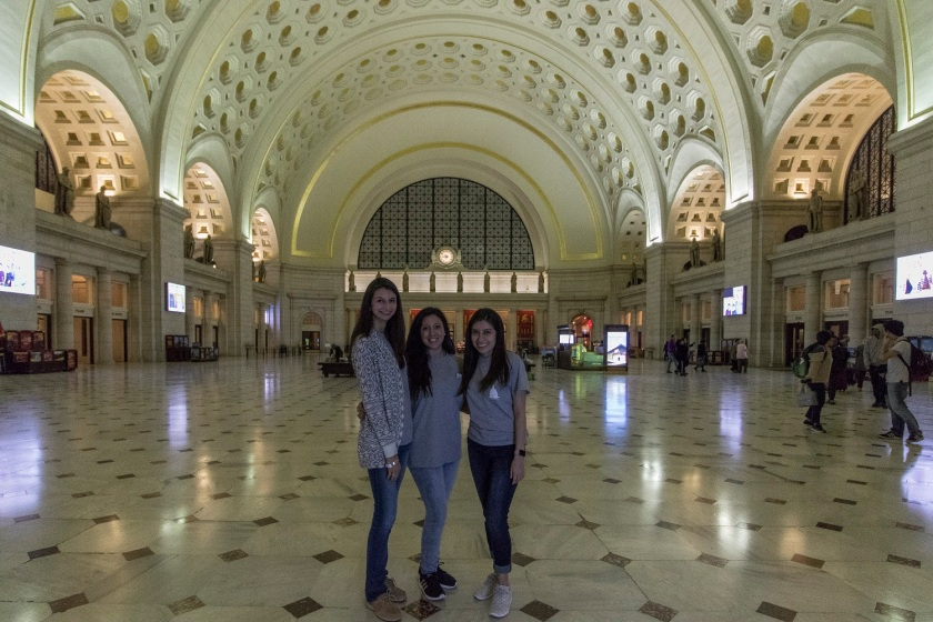 LEAP Center, LEAP Ambassadors, SHSU, Washington DC, Union Station