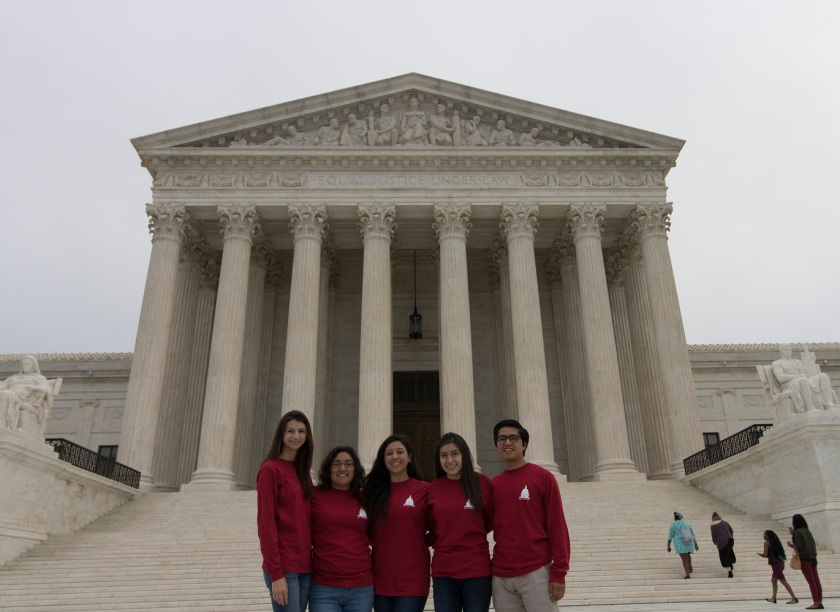 SHSU, LEAP Center, LEAP Ambassadors, Washington DC, United States Supreme Court, USSC