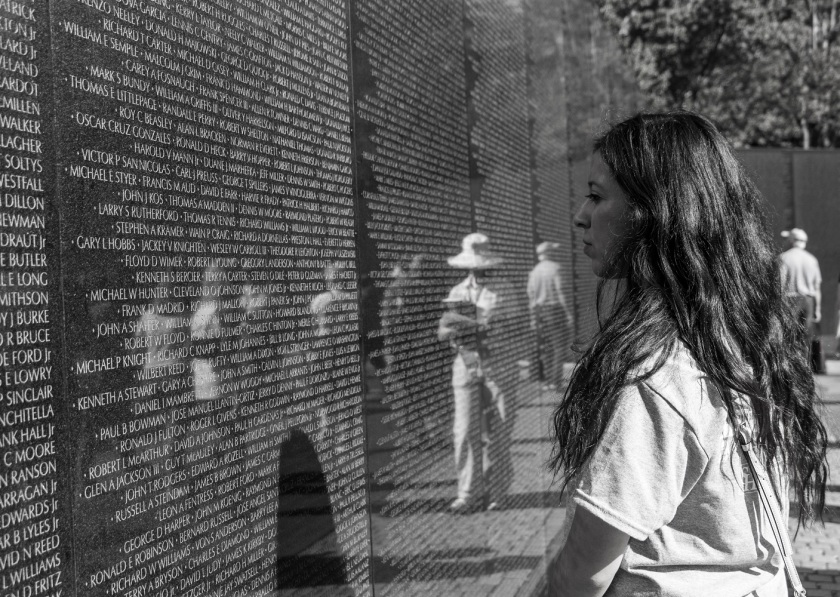 SHSU, LEAP Center, LEAP Ambassadors, Washington DC, Vietnam War Memorial, Maya Lin, James Reston