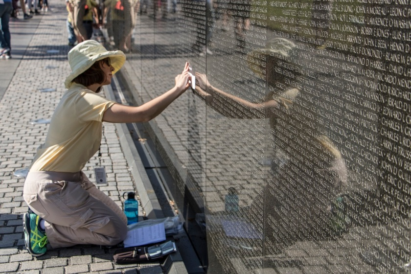 SHSU, LEAP Center, LEAP Ambassadors, Washington DC, Vietnam Memorial Wall, James Reston, Maya Lin