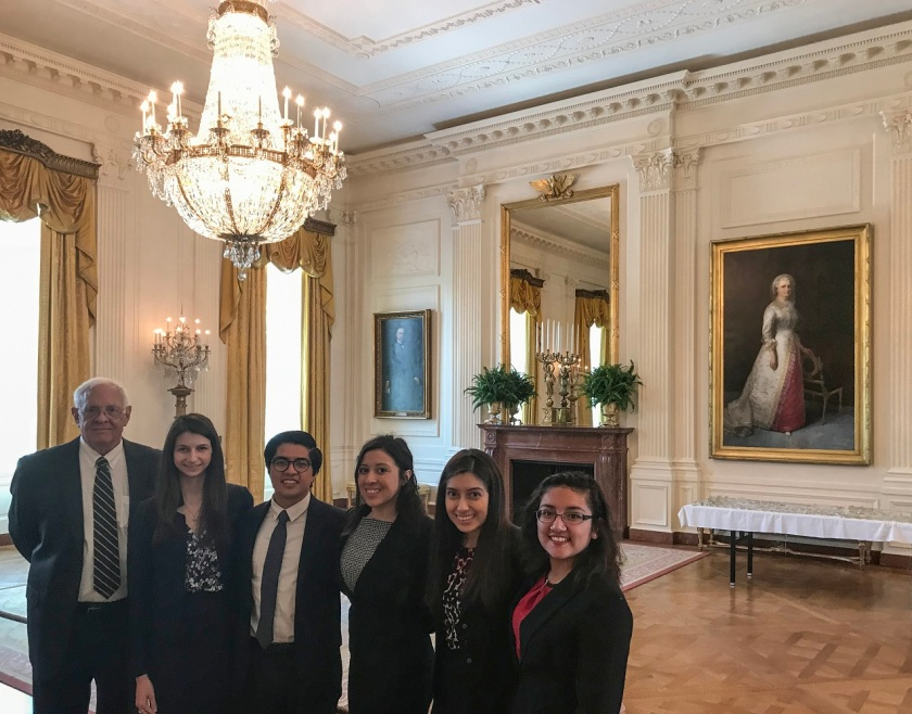 SHSU, LEAP Center, LEAP Ambassadors, Washington DC, White House