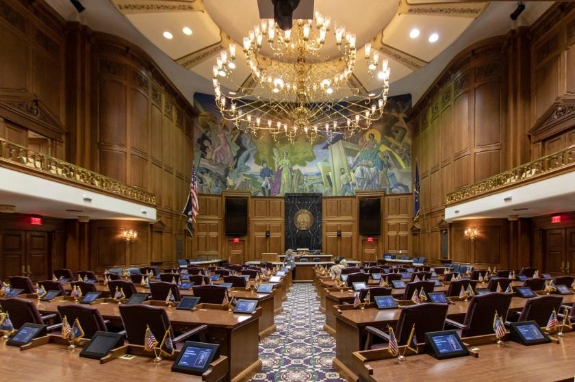 SHSU, LEAP Center, LEAP Ambassadors, Indianapolis, Indiana State Capitol, House of Representatives
