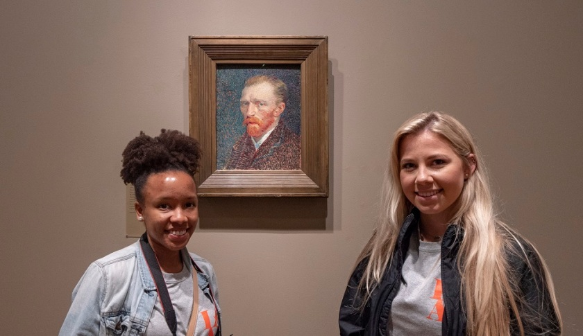 SHSU, LEAP Center, LEAP Ambassadors, Art Institute of Chicago, Van Gogh