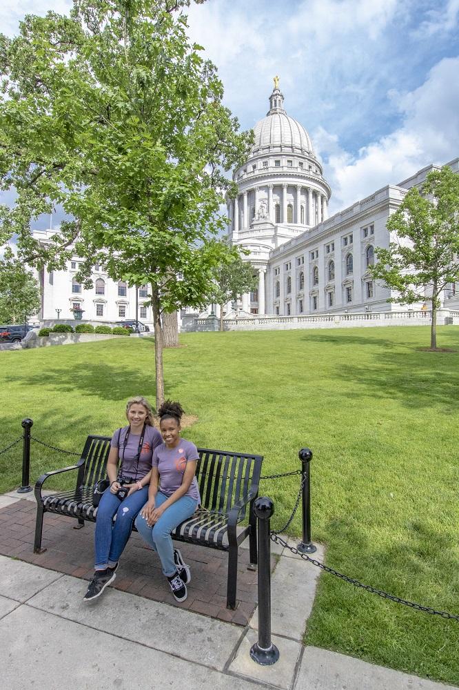 SHSU, LEAP Center, LEAP Ambassadors, Madison WI, Wisconsin Capitol, Handmaid's Tale, Margaret Atwood
