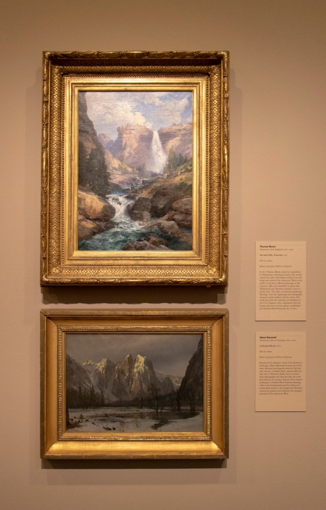 SHSU, LEAP Center, LEAP Ambassadors, MFAH, Museum of Fine Arts, Houston TX,  Hudson River School, Thomas Moran, Albert Bierstadt