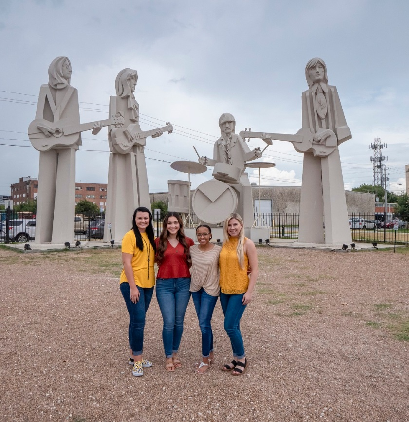 SHSU, LEAP Center, LEAP Ambassadors, Houston TX, David Adickes, The Beatles