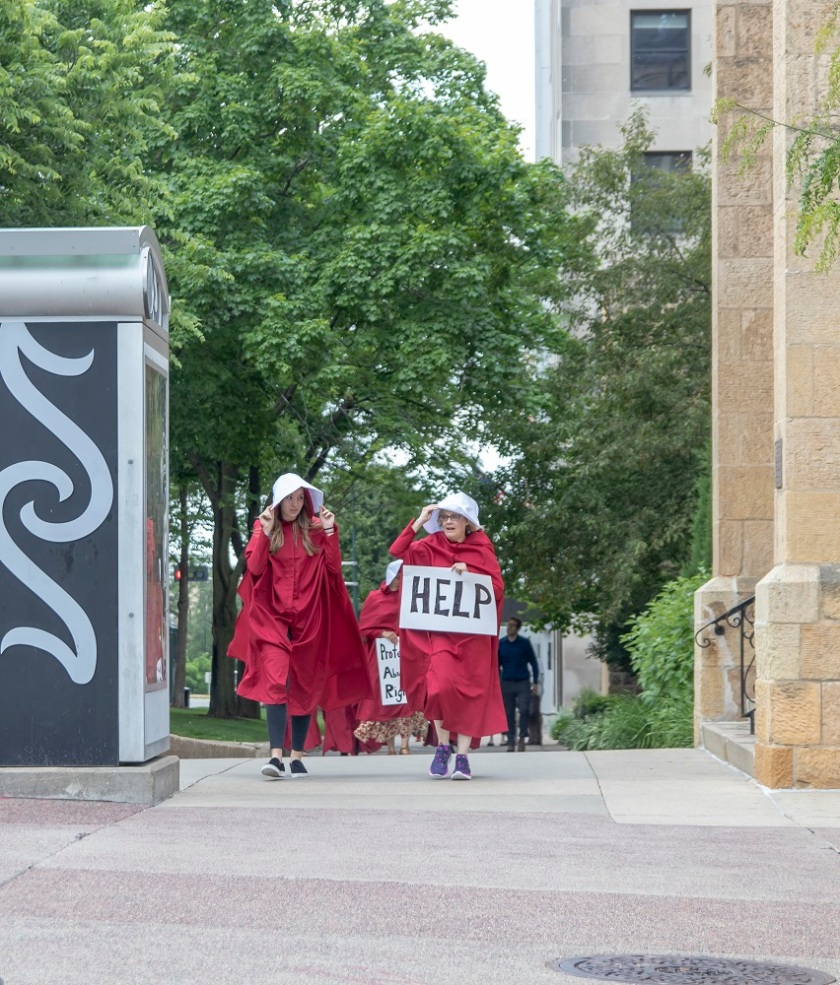 SHSU, LEAP Center, LEAP Ambassadors, Madison WI, Wisconsin Capitol, Handmaid's Tale, Margaret Atwood