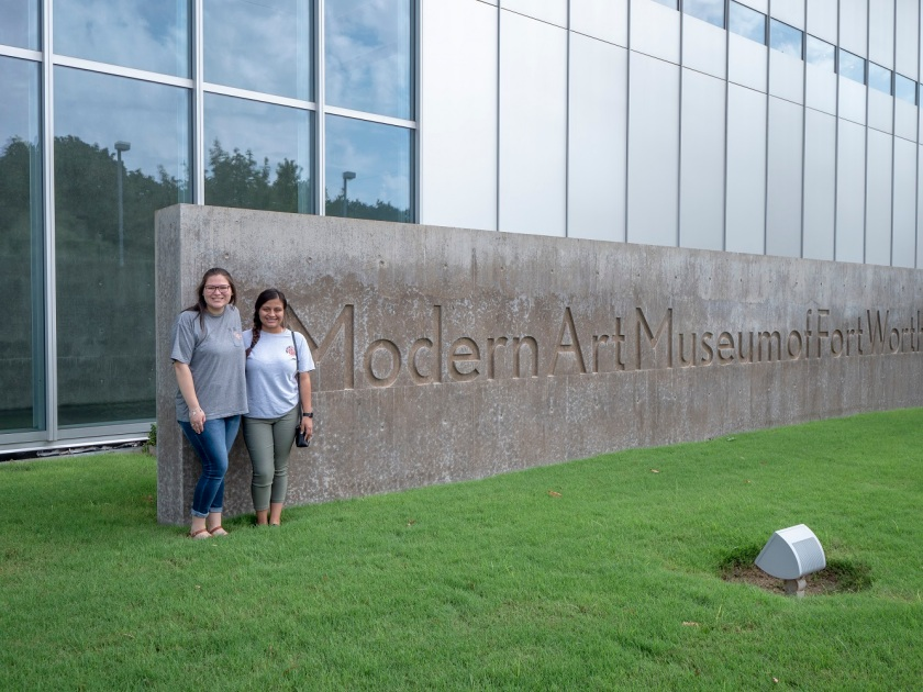 SHSU, LEAP Center, LEAP Ambassadors, Museum of Modern Art of Fort Worth