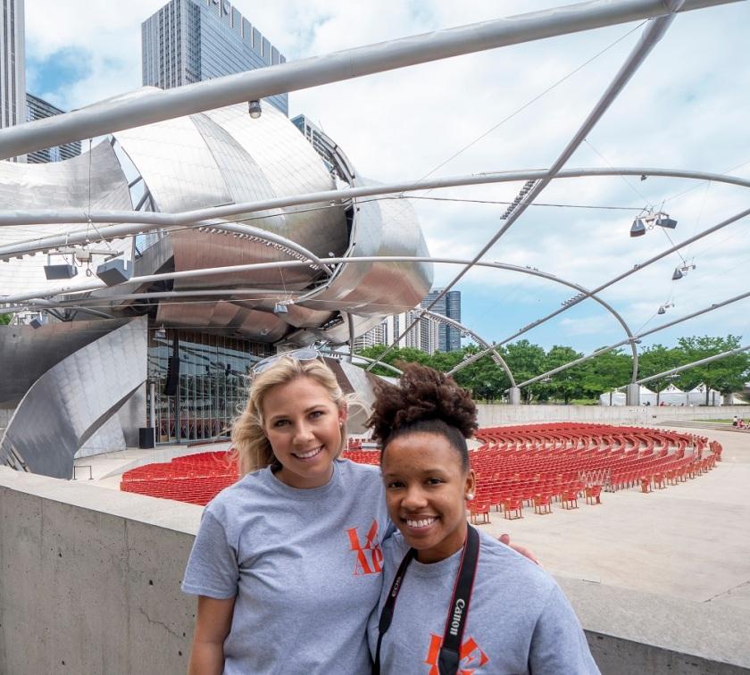 LEAP Center, LEAP Ambassadors, SHSU, Chicago IL, Millennium Park, Frank Gehry