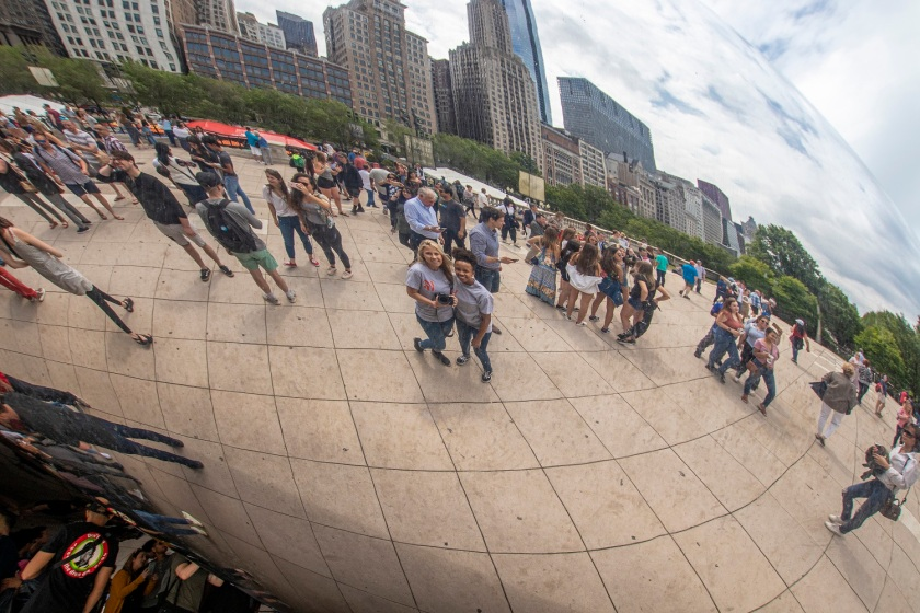 LEAP Center, LEAP Ambassadors, SHSU, Chicago IL, Millennium Park, Anish Kapoor, The Bean