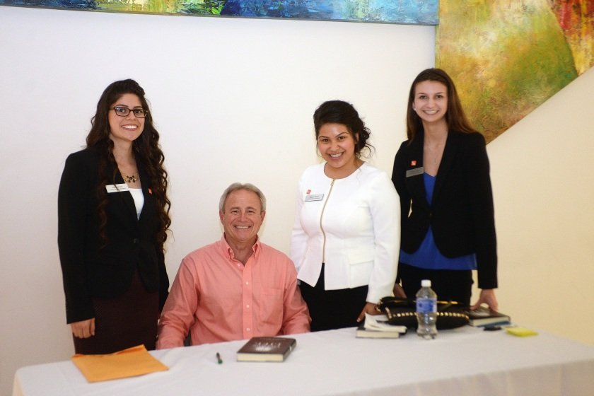 SHSU, LEAP Center, LEAP Ambassadors, Megan Chapa, STCL, South Texas College of Law, Michael Morton