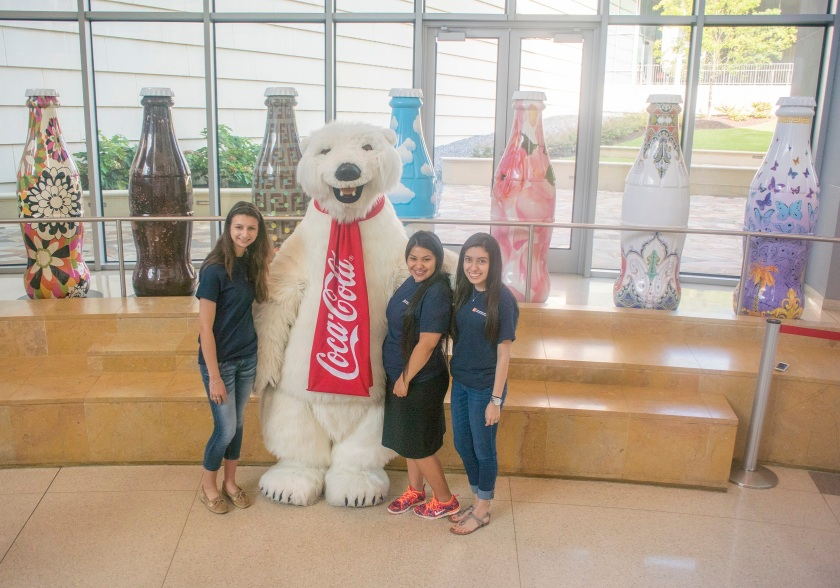 SHSU, LEAP Center, LEAP Ambassadors, Megan Chapa, STCL, South Texas College of Law, Coca Cola