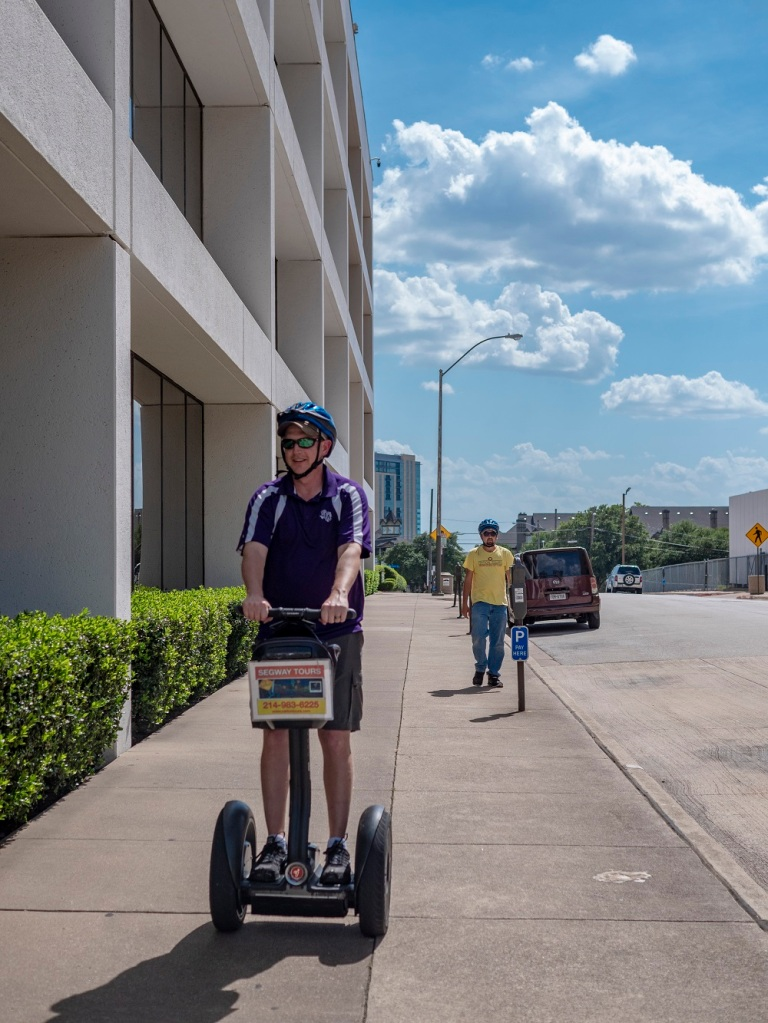 SHSU, LEAP Center, LEAP Ambassadors, Fort Worth, Segway Nation Fort Worth, Aron Kulhavy