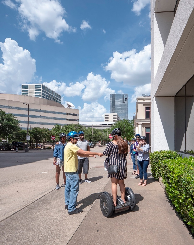 SHSU, LEAP Center, LEAP Ambassadors, Fort Worth, Segway Nation Fort Worth, Esmeralda Mata