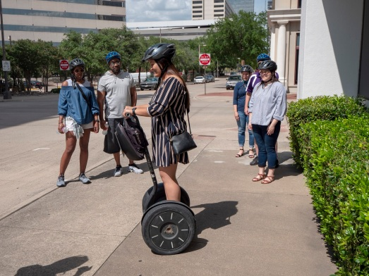 SHSU, LEAP Center, LEAP Ambassadors, Fort Worth, Segway Nation Fort Worth, Esmeralda Mata