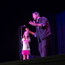 SHSU, Old Town Theater, LEAP Ambassadors, LEAP Center, Andy Gross, Magic, Comedy