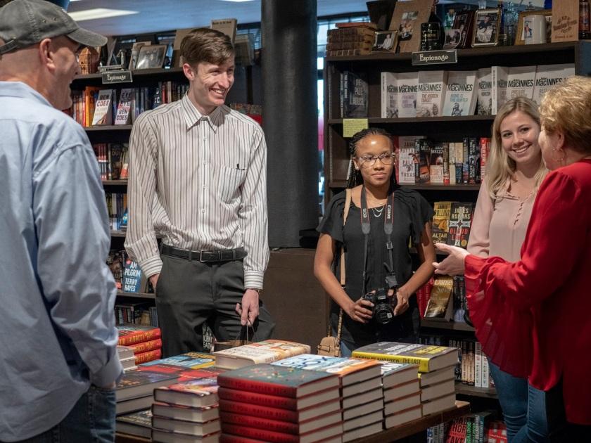 SHSU, LEAP Center, LEAP Ambassadors, Murder by the Book, Kathryn Casey