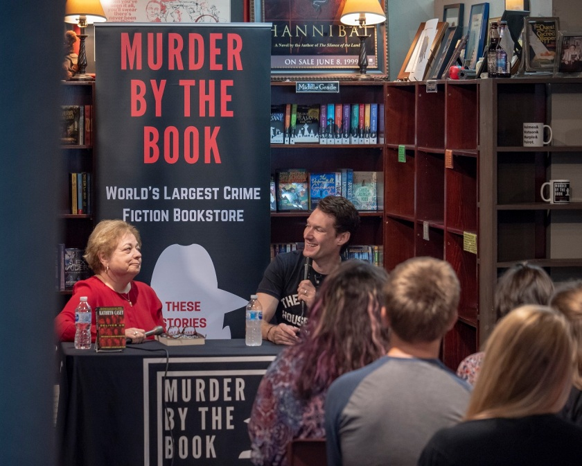 SHSU, LEAP Center, LEAP Ambassadors, Murder by the Book, Kathryn Casey, Billy Jensen