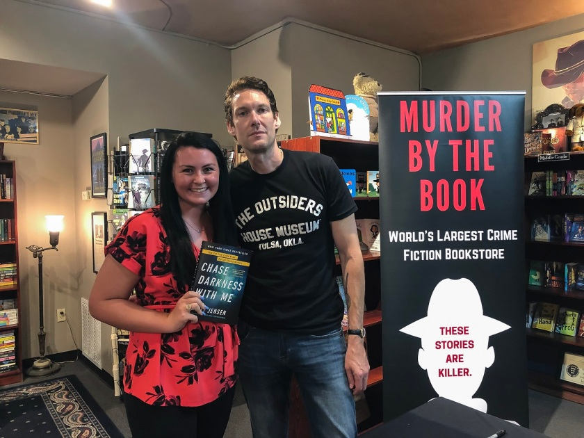 SHSU, LEAP Center, LEAP Ambassadors, Murder by the Book, Billy Jensen