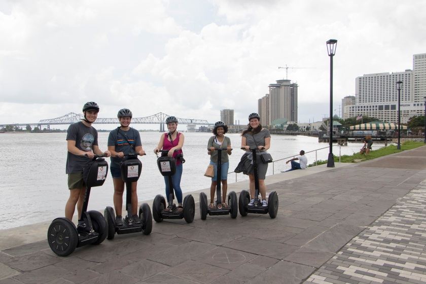 SHSU, LEAP Center, LEAP Ambassadors, NOLA, New Orleans Louisiana, Segway Tour