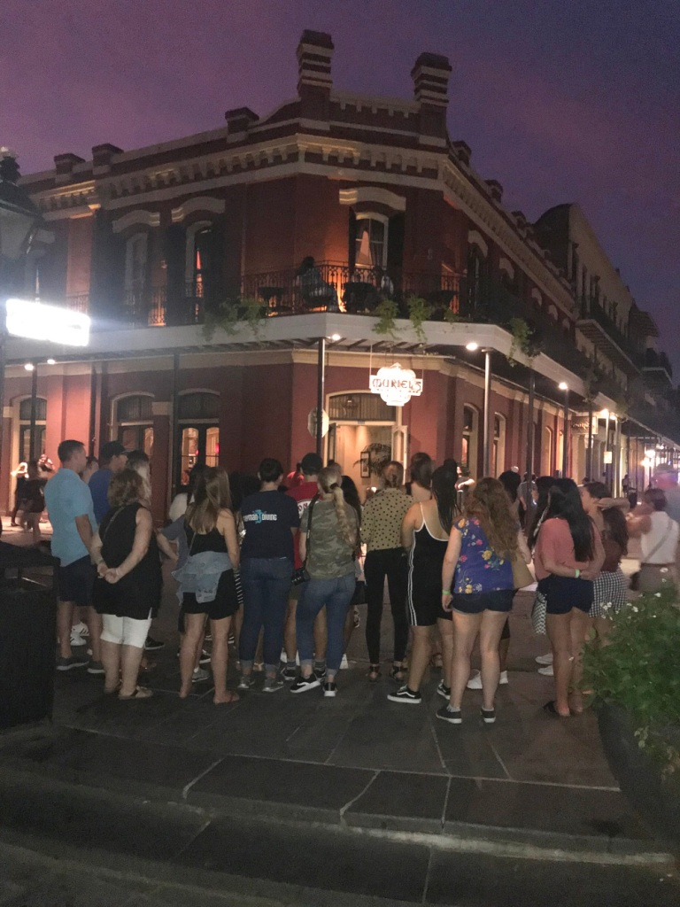 SHSU, LEAP Center, LEAP Ambassadors, NOLA, New Orleans Louisiana, Ghost Tours New Orleans