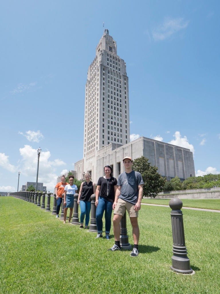 SHSU, LEAP Center, LEAP Ambassadors, Baton Rouge, Louisiana State Capitol