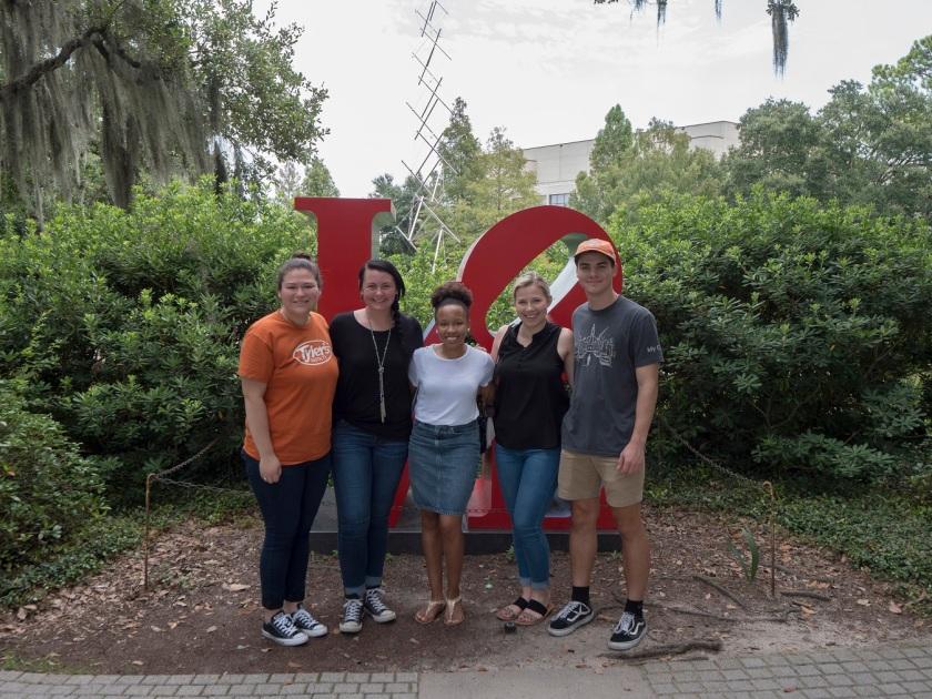 SHSU, LEAP Center, LEAP Ambassadors, NOLA, New Orleans Louisiana, Besthoff Sculpture Garden, Robert Indiana, LOVE