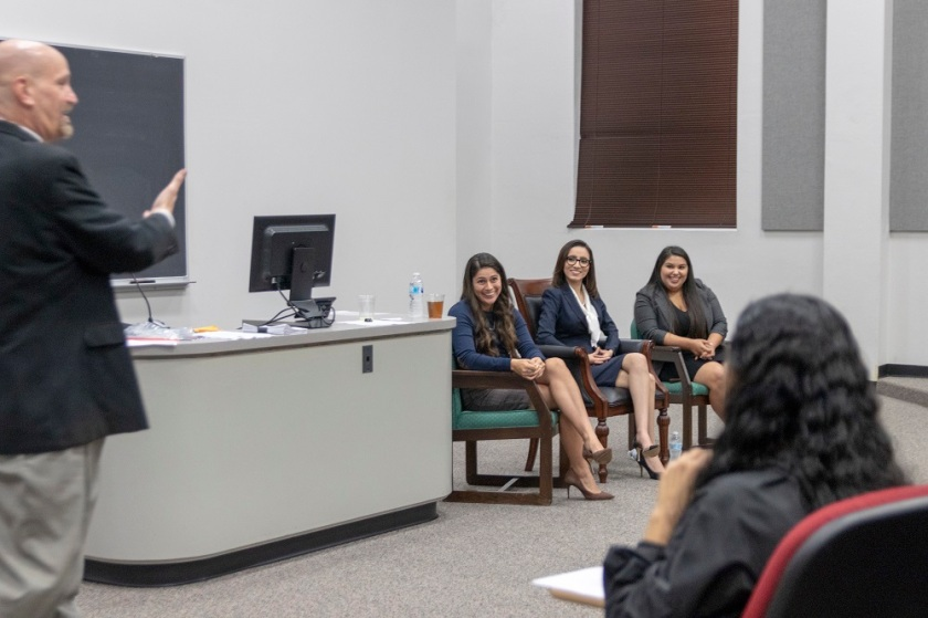 SHSU, LEAP Center, Pre-Law Society, Alex Galvan, Jessica Rodriguez, Megan Chapa