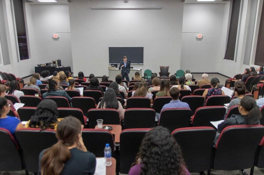 SHSU, LEAP Center, Pre-Law Society, Sawyer Massie