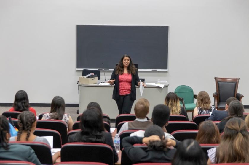 SHSU, LEAP Center, Pre-Law Society, Heather Barodi