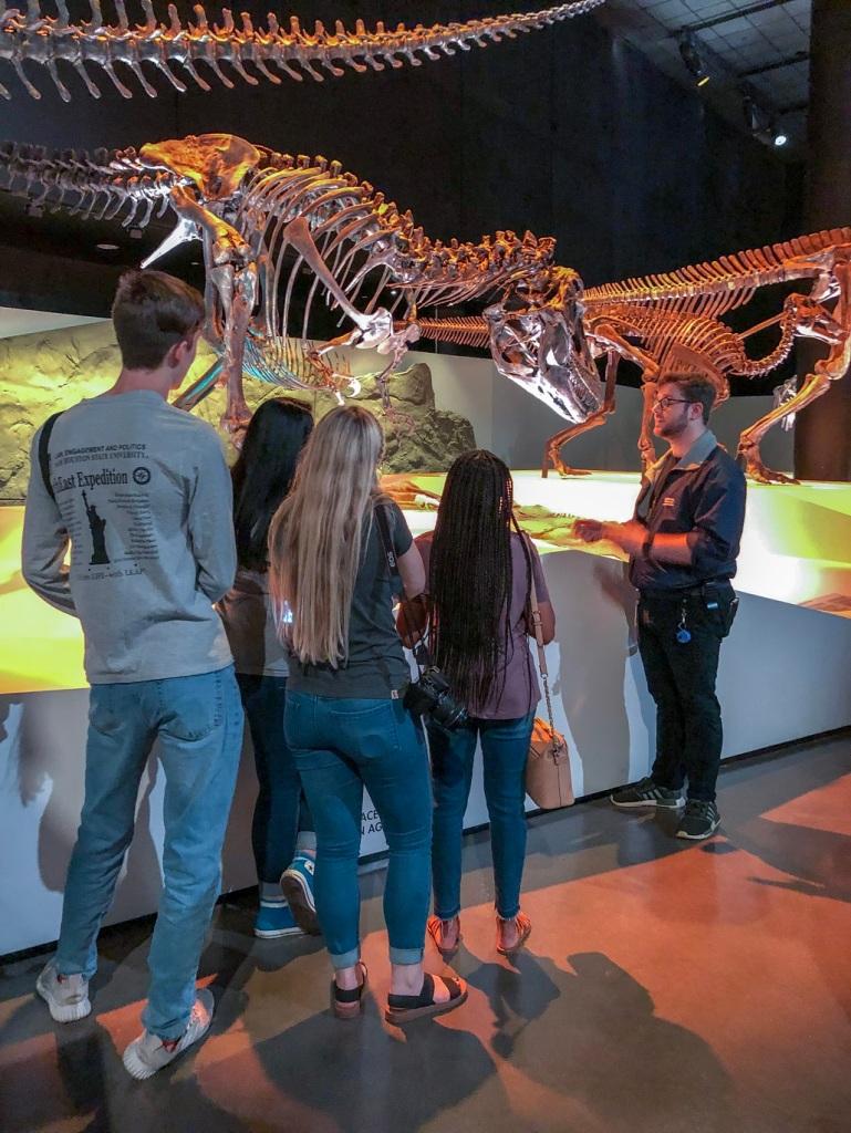SHSU, LEAP Center, LEAP Ambassadors, Museum of Natural Science