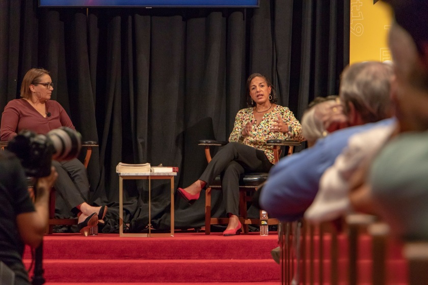 SHSU, LEAP Center, LEAP Ambassadors, Austin Texas, Texas Tribune Festival, Tribfest, Susan Rice