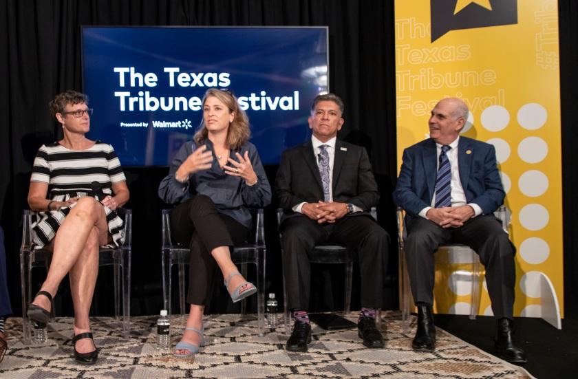 SHSU, LEAP Center, LEAP Ambassadors, Austin Texas, Texas Tribune Festival, Tribfest, Judge Susan Eckhardt, Alicia Glen, Jerry Morales, Alan Webber, Matt Yglasias