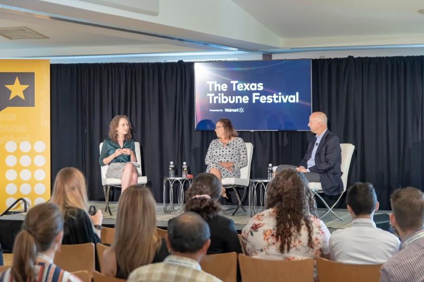 SHSU, LEAP Center, LEAP Ambassadors, Austin Texas, Texas Tribune Festival, Tribfest, Susanna Martinez