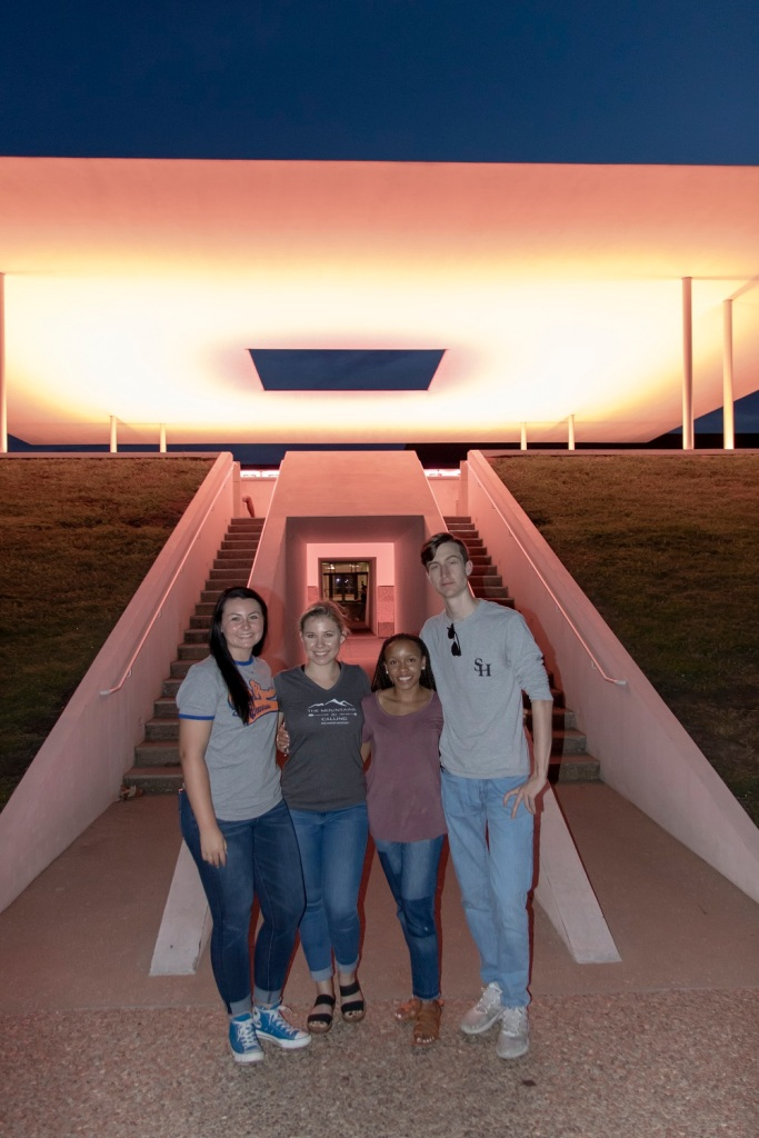 SHSU, LEAP Center, LEAP Ambassadors, James Turrell, Rice University, Twilight of the Epiphany