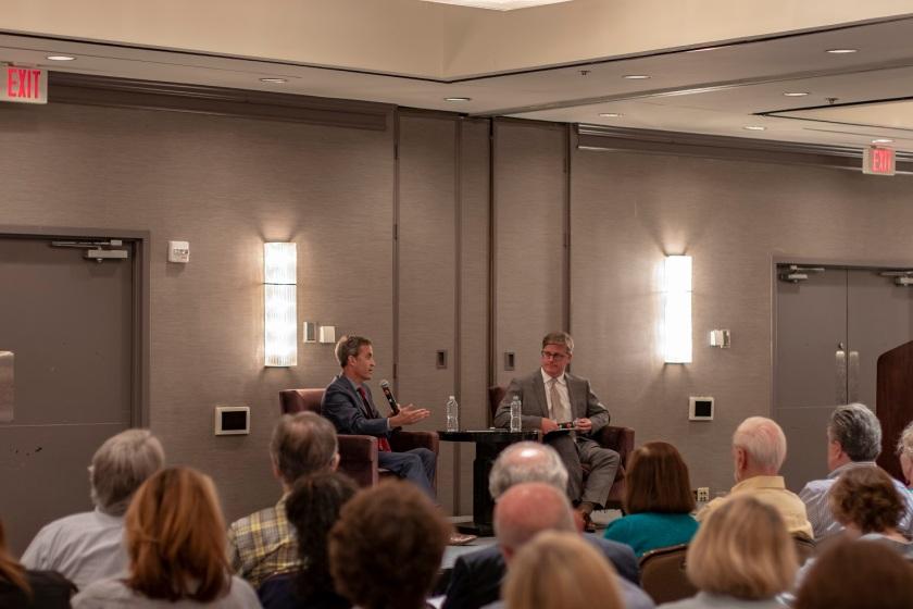 SHSU, LEAP Center, LEAP Ambassadors, World Affairs Council Houston, David Kaye, Free Speech