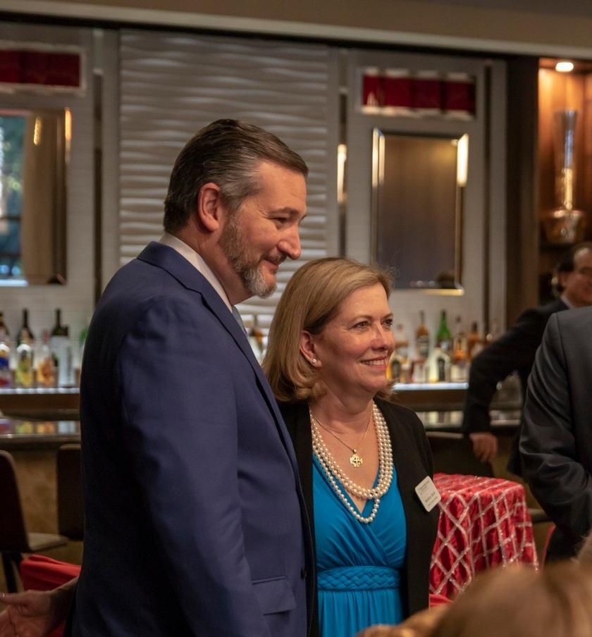 SHSU, LEAP Center, LEAP Ambassadors, World Affairs Council, Senator Ted Cruz