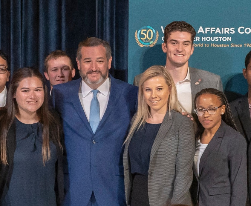 SHSU, LEAP Center, LEAP Ambassadors, World Affairs Council, Senator Ted Cruz