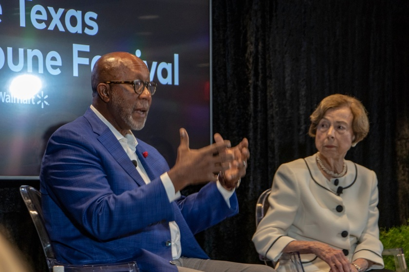 SHSU, LEAP Center, LEAP Ambassadors, Texas Tribune Festival, Tribfest 2019, Trade