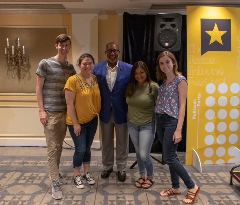 SHSU, LEAP Center, LEAP Ambassadors, Texas Tribune Festival, Tribfest 2019, Ron Kirk