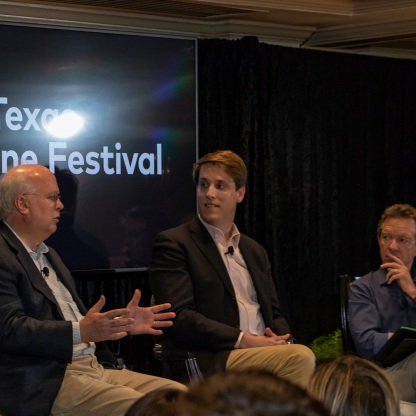 SHSU, LEAP Center, LEAP Ambassadors, Texas Tribune Festival, Austin Texas, Karl Rove, 9-11