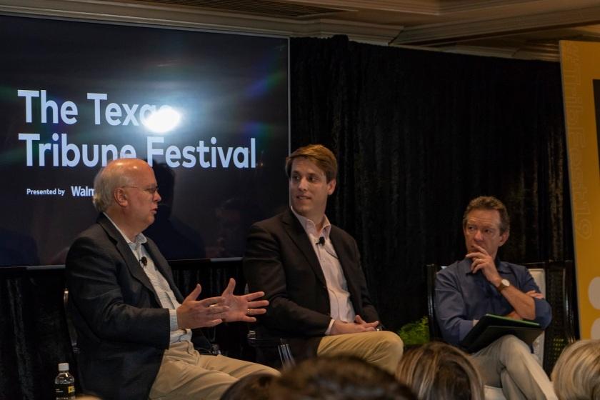 SHSU, LEAP Center, LEAP Ambassadors, Texas Tribune Festival, Austin Texas, Karl Rove, 9-11