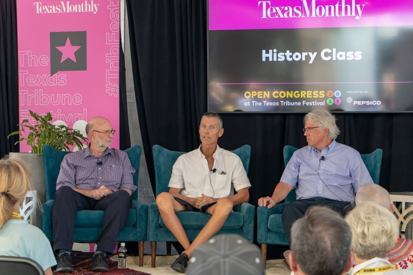 SHSU, LEAP Center, LEAP Ambassadors, Texas Tribune Festival, Tribfest 2019, HW Brands